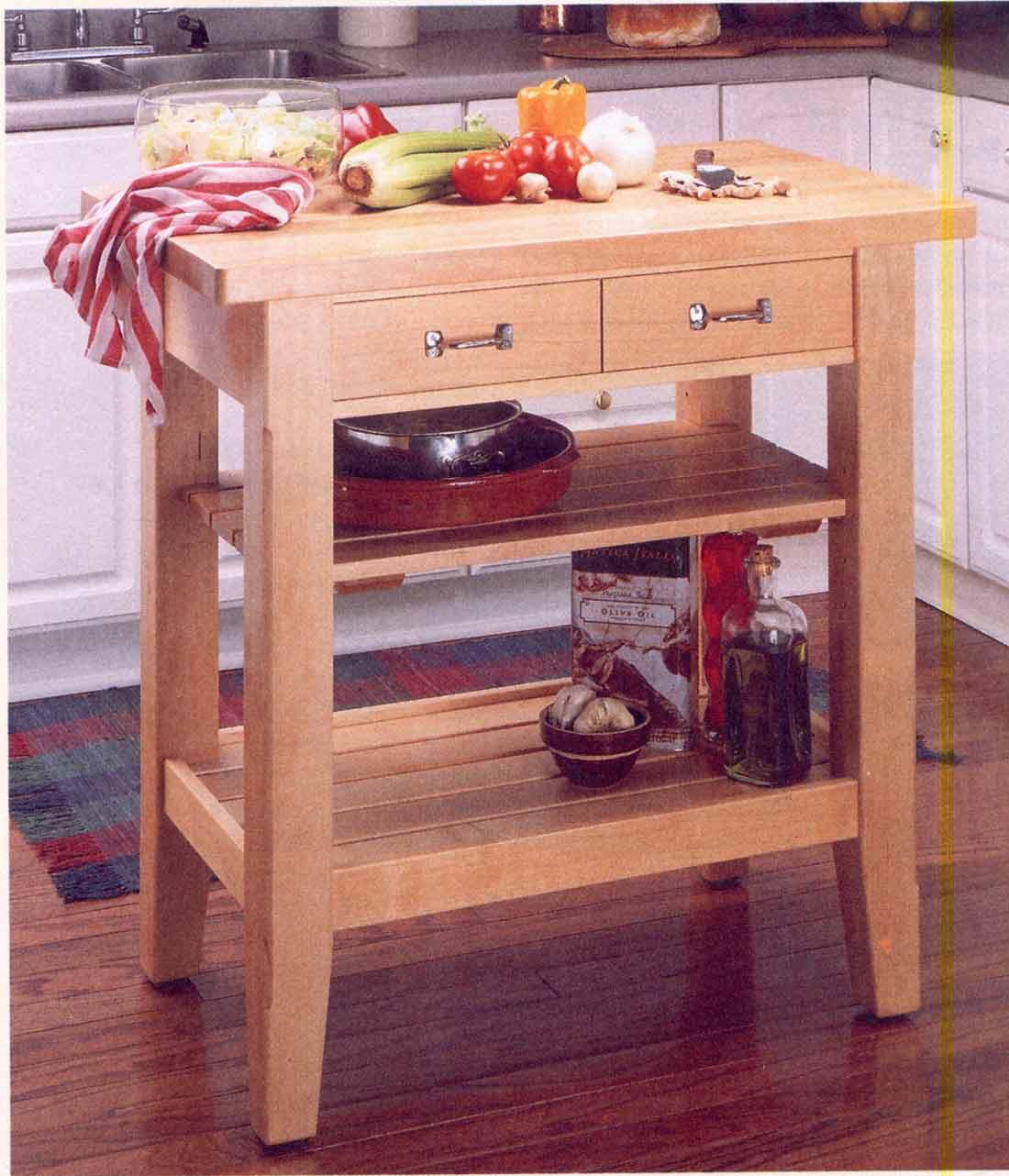 Delicieux Kitchen Work Center