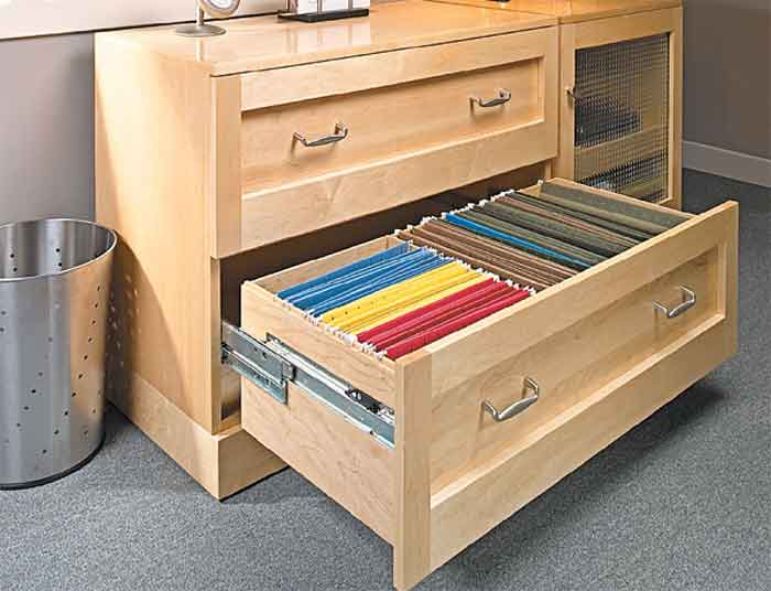 Nice Lateral File Cabinet W/ Full Extension Drawers