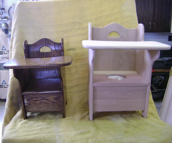 stadard u0026 large potty chair side by side comparison front view ... & Natures Business- Kids Stuff
